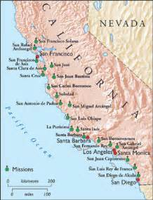 mission california map california missions ht map history today magazine flickr