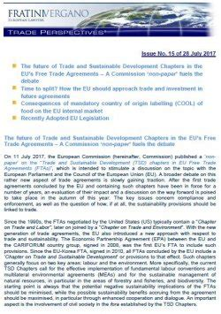 Free Trade Debate Essay by Issue Number 15 28th July 2017 Trade Perspectives 169 Fratinivergano