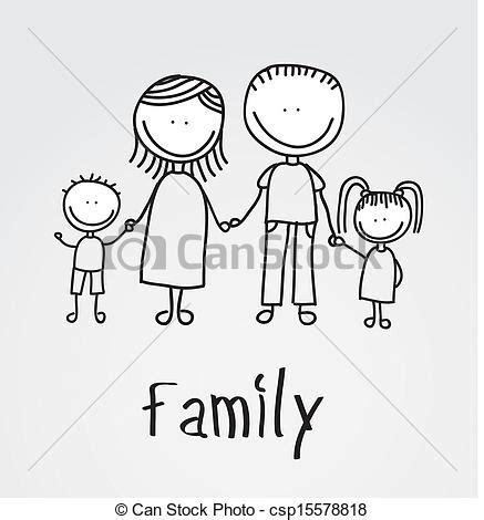 clipart famiglia disegno famiglia grigio famiglia sopra illustrazione