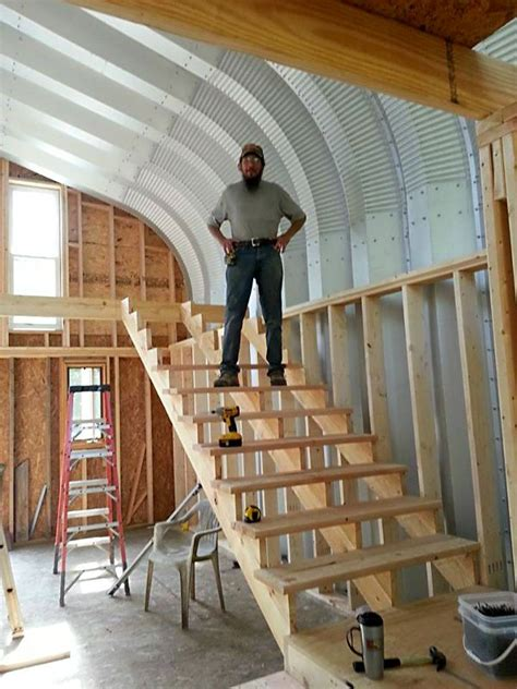 illinois man builds  perfect  grid steel home