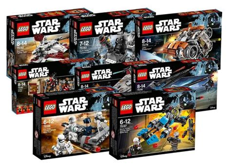 Lego Wars Starwars Brick nouveaut 233 s lego wars du second semestre 2017