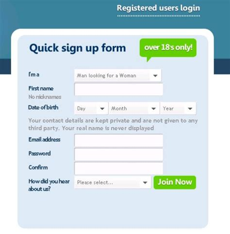 how to get your registered as a service how to create effective registration forms dt