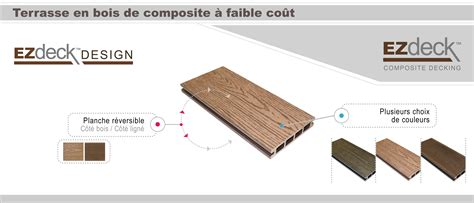 Planche De Patio En Composite by Terrasse En Composite Ezdeck Design Patio En Composite