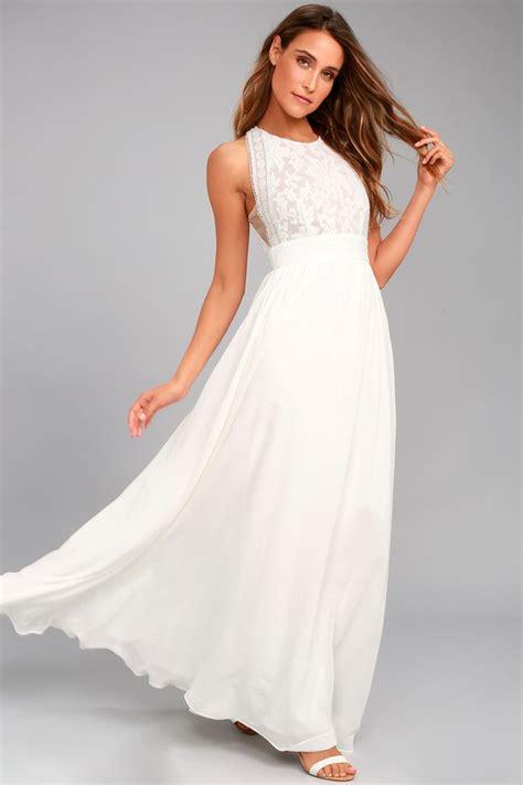 New Maxi Dress White lovely white dress lace dress maxi dress 89 00