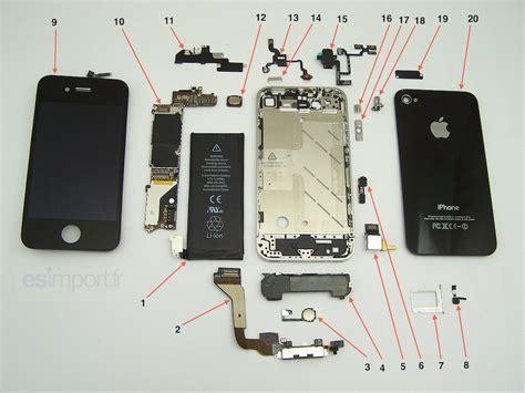 iphone  vue eclatee esimport