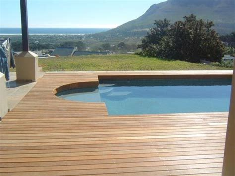 wood pool deck 17 best images about pool decking on pinterest pool