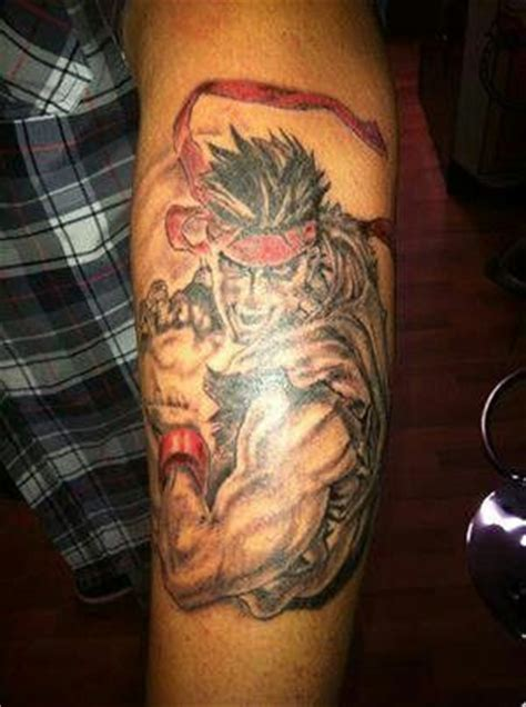 street fighter tattoo designs fighter ii ryu awesome tattoos