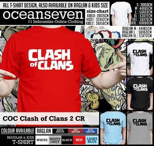 Kaos Graphics 11 Oceanseven jual kaos coc clash of clans 2 cr 7 store