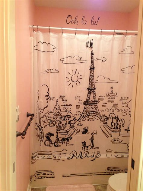 paris themed shower curtain 17 best images about paris theme on pinterest paris
