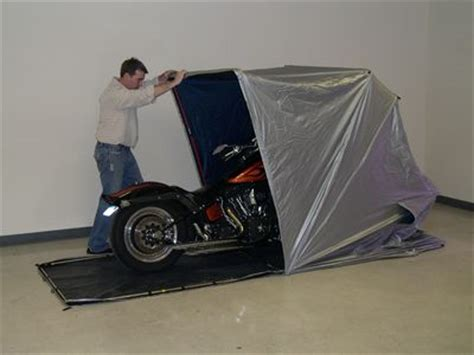 Motorcycle Portable Garage by Fred Burger Quot Trailers Quot Portable Garages