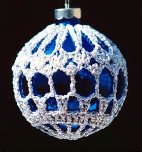 crochet christmas ornament cover b2 1 by sueallencrochet