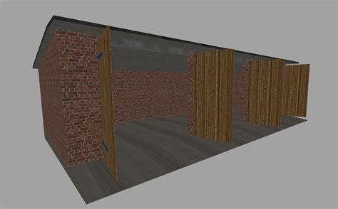 kleine garage ls 15 garage v 1 1 platzierbar geb 228 ude mod f 252 r