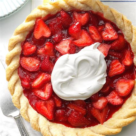 strawberry pie recipe from scratch