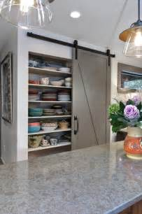 Barn Doors In Kitchen From Rustic To Chic 15 Kitchens With Barn Door Accents