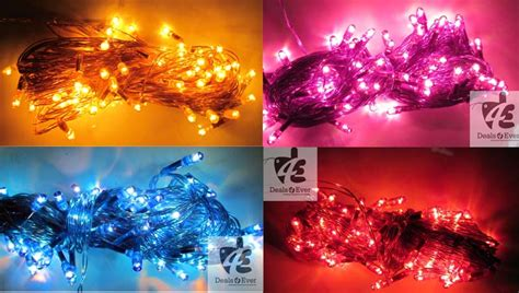 set of 4 rice lights decoration lighting for diwali