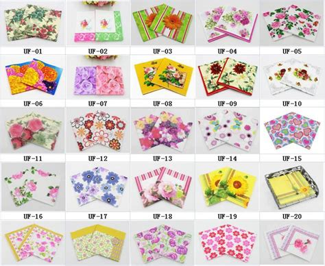 Printed Tissue Paper For Decoupage - aliexpress buy rainloong wholesale flower printed
