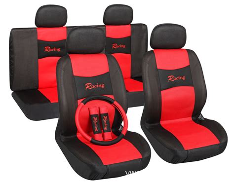 sport car seat cover designs cheapest universal 11pcs sport car seat cover classic