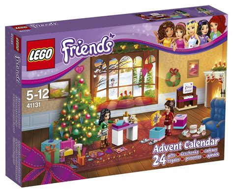Advent Calendar Heartlake Times Lego Friends Advent Calendar 2016