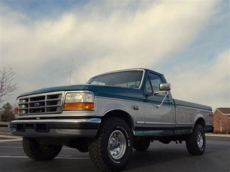 1996 ford f150 xlt loaded automatic 5 8 liter v8 rare color combo must see for sale in