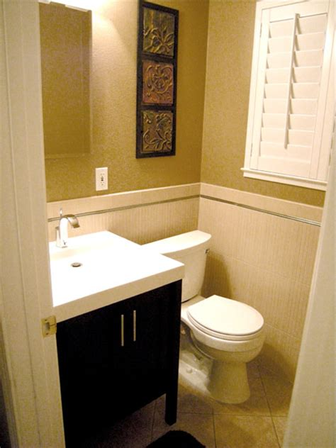 Design For Small Bathrooms | small bathroom design ideas