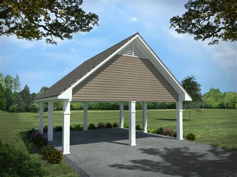 detached carport plans carport plans detached 2 car carport plan 001g 0006 at