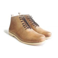 Brodo High shoes on smooth leather tired and sneakers
