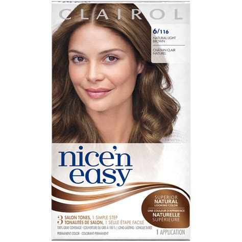 nice n easy permanent color ultra light natural blonde 87 clairol clairol nice n easy permanent hair color 6