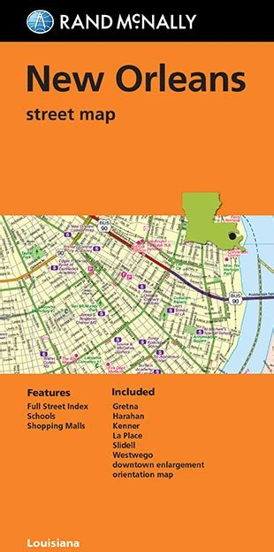 new orleans streetcar map folded map new orleans map