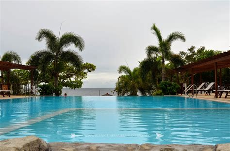 resort in laiya batangas with infinity pool blank itineraries laiya batangas palm resort