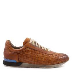 s woven leather sneakers shoes made in italy