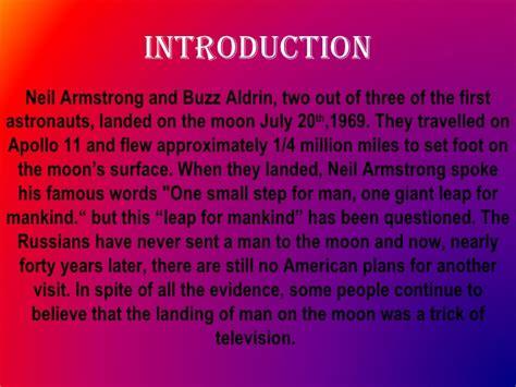 Moon Conspiracy Essay by Moon Landing Hoax