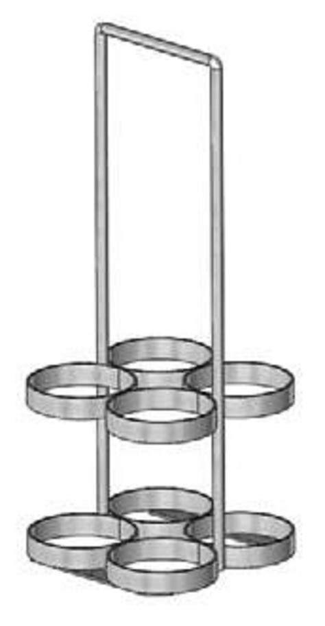 Cylinder Racks by De 400 Oxygen Cylinder Rack Carrier Free Shipping