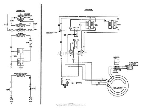 wiring diagram for craftsman generator wiring diagrams