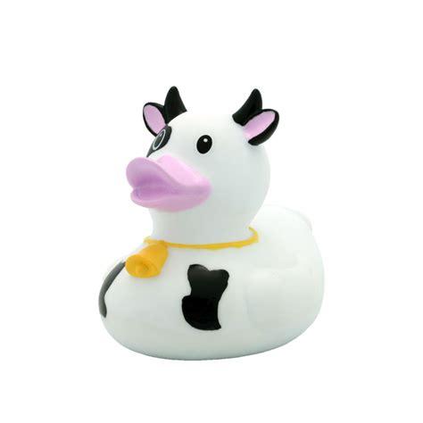 Rubber Black White cow black white rubber duck buy premium rubber ducks