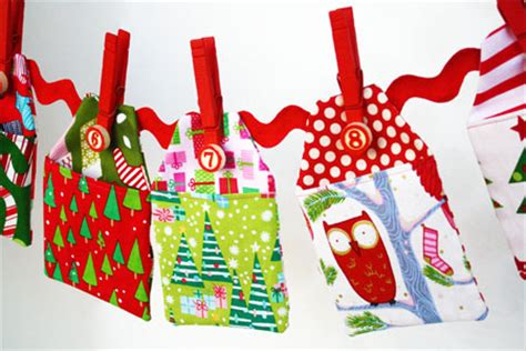 fabric advent calendars to make how to make an advent calendar by skip to my lou skip to