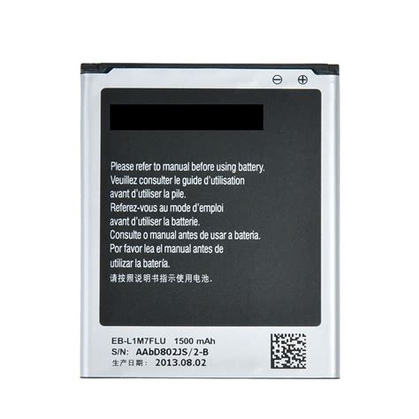 Baterai Power Samsung S3 Mini batteries compatible samsung galaxy s3 mini battery for