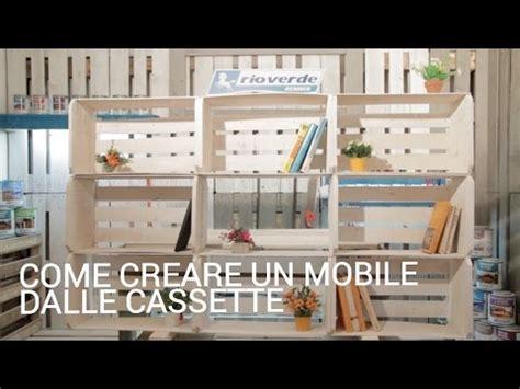fare un mobile come creare un mobile dalle cassette