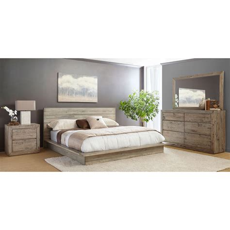 palencia rustic brown 6 piece cal king bedroom set king bedroom sets rc willey with regard to your property