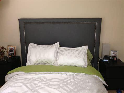 diy studded headboard diy upholstered studded headboard arts crafts diy headboards diy and bedrooms