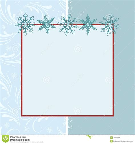 Blank Card Stock Templates by Blank Template For Greetings Card Royalty Free Stock