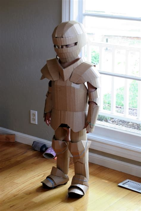 cardboard armour template fantastical cardboard costume diy turns boxes into