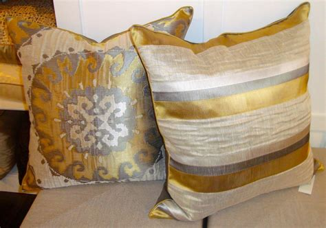 ivory sofa decorating ideas gold decorative pillows handmade black gold throw pillow