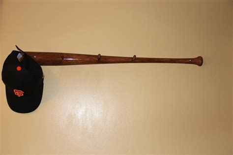 Baseball Bat Hat Rack by Baseball Bat Hat Rack Woodworking Projects Plans