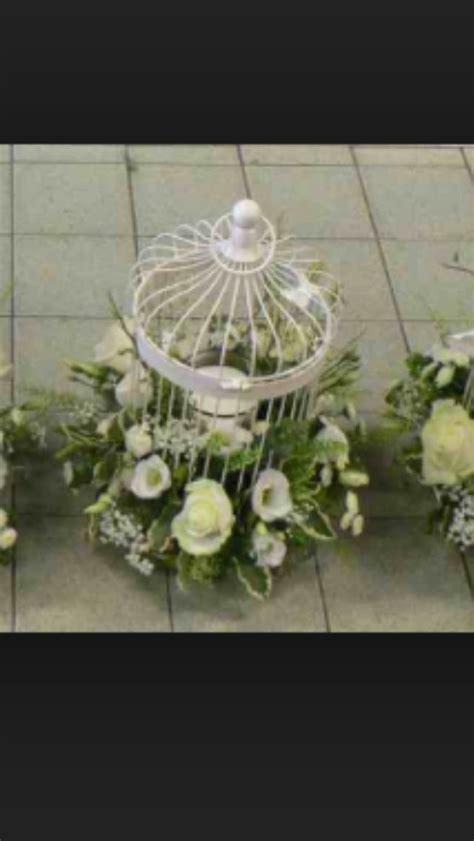 bird cage flower arrangement wedding pinterest bird