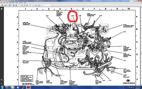 ford taurus cooling system diagram diagram ford taurus parts diagram
