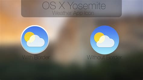 weather wallpaper for mac os x yosemite weather app icon test by atopsy on deviantart