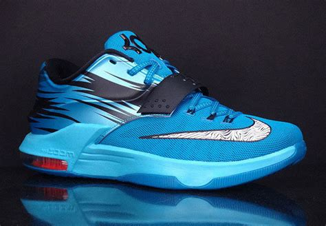 new year kd 7 nike kd 7 quot lacquer blue quot available early on ebay