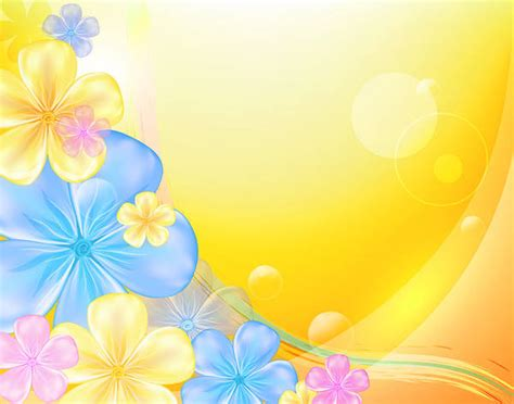 Gallery backgrounds yellow floral backgr
