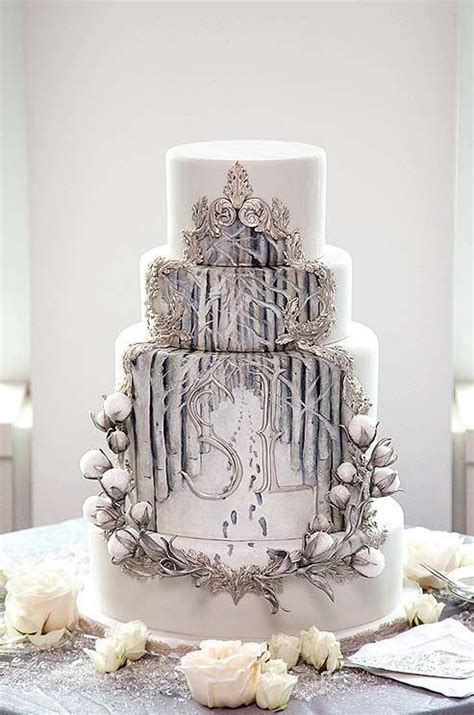 enchanted winter forest cake shared  colin cowie