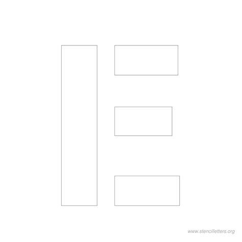 printable stencil letters 4 inch 4 inch stencil letters stencil letters org